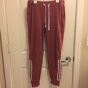 Pants - WOMENS XL PINK JOGGERS PANTS SWEAT PANTS
